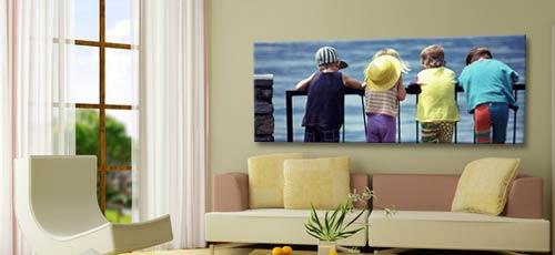 Stampe per pareti personalizzate colori per dipingere for Casa personalizzata online