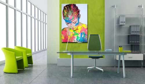 stampa su tela canvas personalizzata con foto per arredare il tuo ufficio