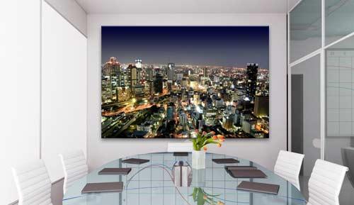 Tela canvas adatte anche per personalizzare gli uffici